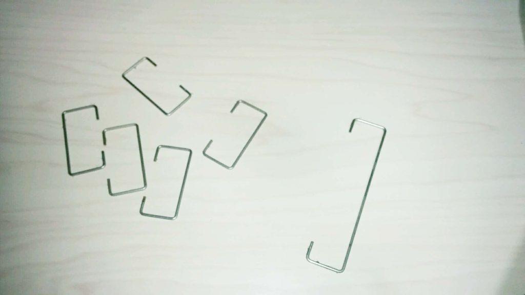 キーボードの針金