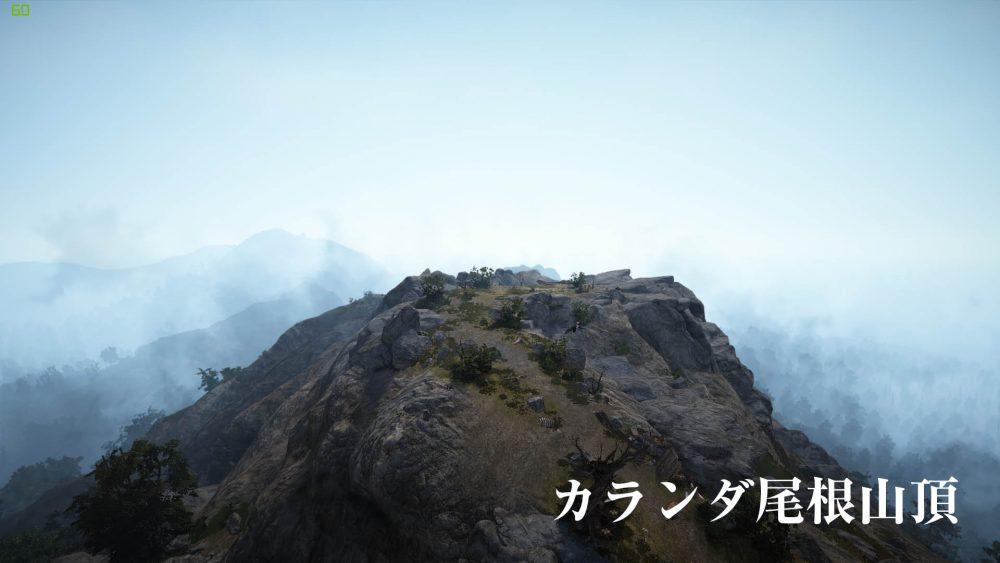 カランダ尾根山頂