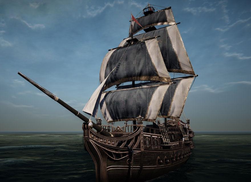 黒い砂漠 駆逐艦 貿易船