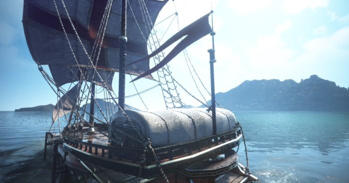エフェリア貿易船