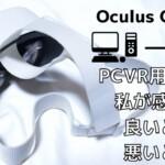 Oculus Quest 2でPC用VRは本当に満足できる?良い所と悪い所