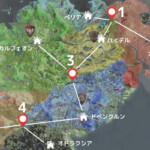 【黒い砂漠】本土全エリアをカバーする倉庫メイド用のサブキャラ配置